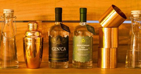 SUCOs DO BRASIL GIN'CA und Amazonian Gin Company
