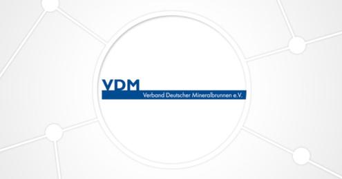 Verbnad Deutscher Mineralbrunnen VDM Logo