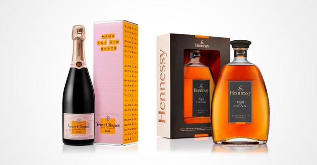 Veuve Clicquot Rosé Hennessy Fine de Cognac