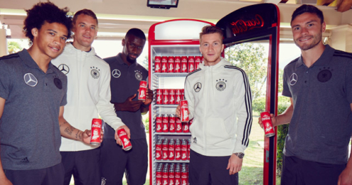 Coca-Cola Fan Fridge Nationalmannschaft