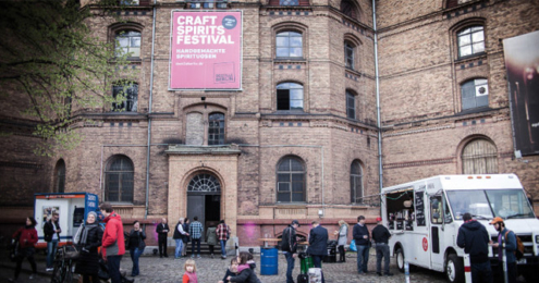 Craft Spirits Festival DESTILLE BERLIN 2016 Eingang
