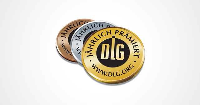 DLG Medaille jährlich prämiert