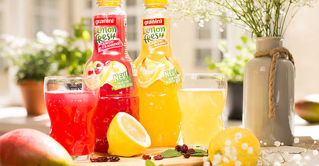 granini Lemon Fresh Mango Cranberry