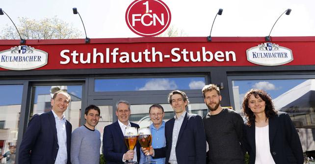 KULMBACHER 1. FC Nürnberg Vertragsverlängerung