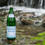 Mineralwasser Glasflasche Natur IDM