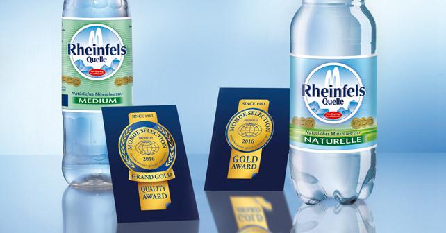 Rheinfels Quelle Monde Selection 2016