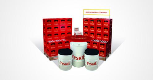 Tyskie Promotion Handel Sommer 2016