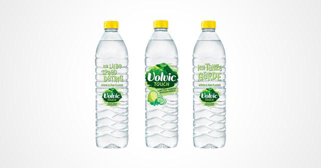 Volvic Touch Limetten-Gurken-Minz-Geschmack