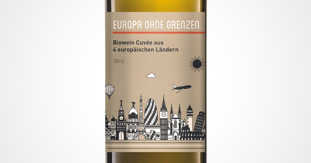 Garibaldi Riegel Europa ohne Grenzen Wein