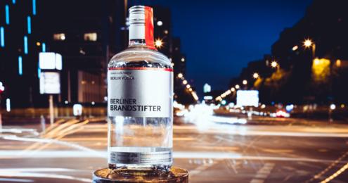 Berliner Brandstifter Vodka