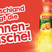 granini Sonnenflasche Promotion