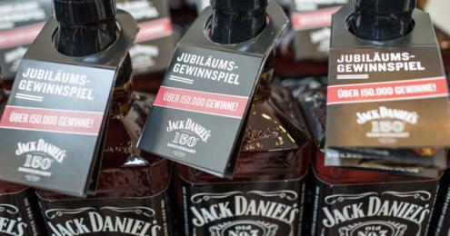 JACK DANIEL'S Promotion 150 Jahre