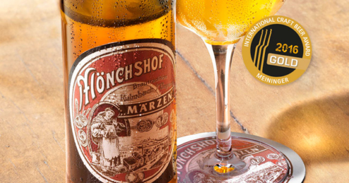 "Mönchshof ""Historisches Märzen"" Craft Beer Award 2016"
