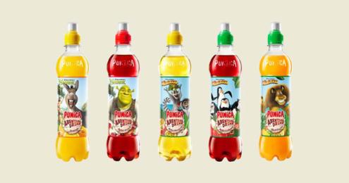 Punica Abenteuer Drink Shrek Madagascar