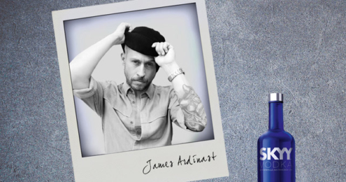 SKYY Vodka und James Ardinast