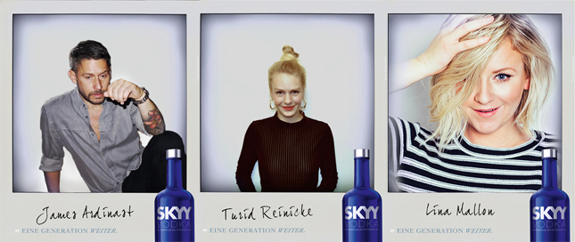 SKYY Vodka Journal Editoren