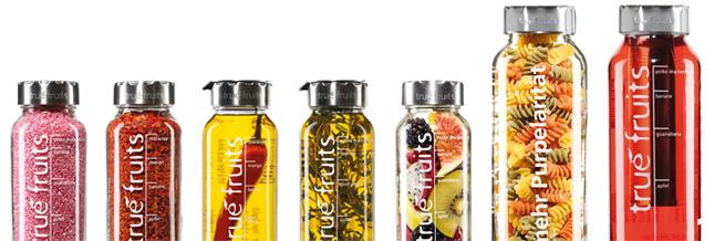 true fruits Upcycling Flaschenaufsätze
