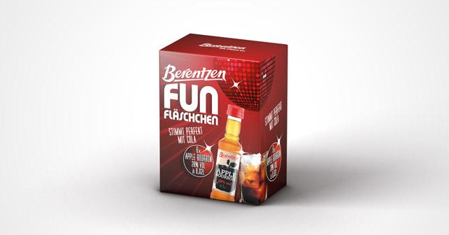 Berentzen Fun Fläschchen Apple
