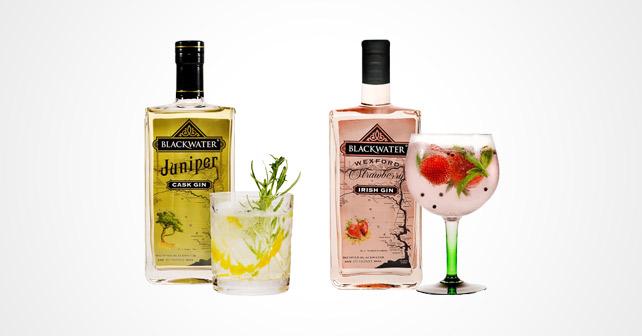 Blackwater Gin Juniper Strawberry
