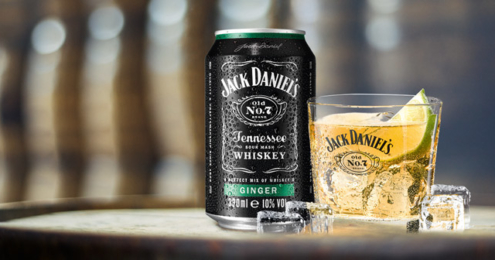 JACK DANIEL'S & Ginger Limited Edition