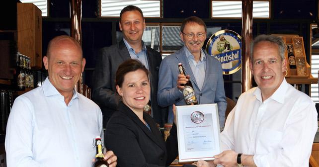Mönchshof LZ Auszeichnung