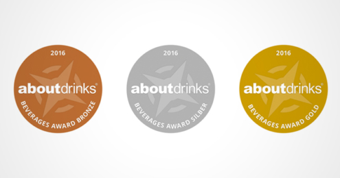 Beverages Award 2016 Medaillen