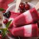 Blitzeis Saft Joghurt-Schicht-Eis