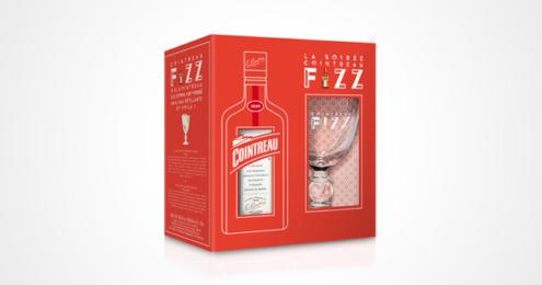 Cointreau Fizz Cocktailglas Onpack