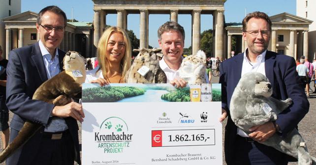 Krombacher Artenschutz-Projekt 2016
