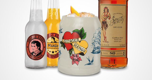 Sailor Jerry Thomas Henry Drink