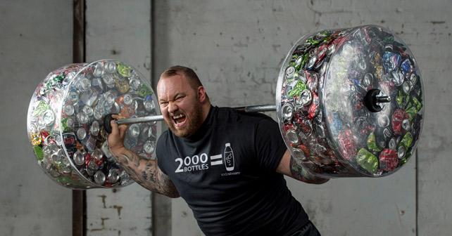 SodaStream Thor Bjornsson Gewicht