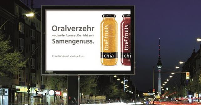 true fruits Plakat Chiasamen