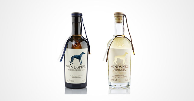 Windspiel Gin & Wodka