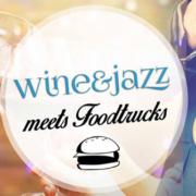 Wine&Jazz meets FoodTrucks Logo