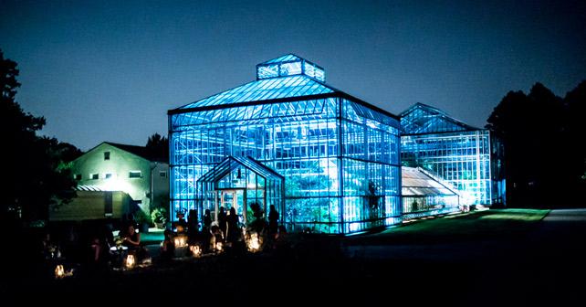 Bombay Sapphire Secret Art Garden Berlin