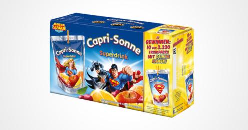 Capri-Sonne Superdrink Gewinnspiel