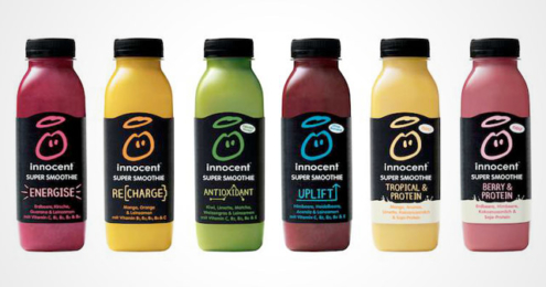 innocent Super Smoothies neue Sorten