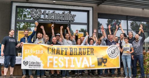 Liebesbier CRAFT BRAUER FESTIVAL 2016