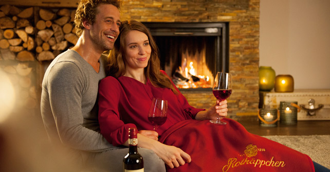 Rotkäppchen Qualitätswein Kamin Mood