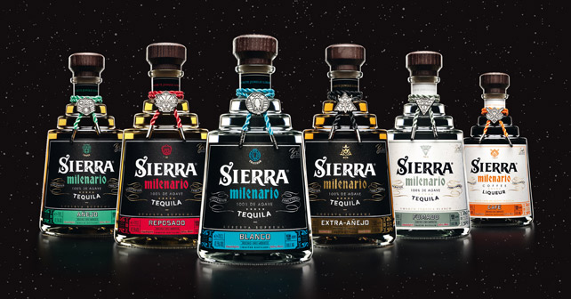 Sierra Milenario Tequila Relaunch