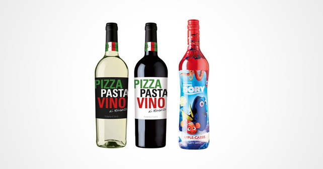 ZGM Pizza-Pasta-Wein Finding Dory
