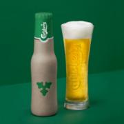 Carlsberg Gewebe-Flasche