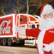 Coca-Cola Truck Santa Claus