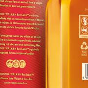 Diageo Johhnie Walker Red Label Angaben Alkohol