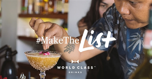 Diageo World Class Make the List