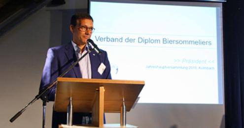 Verband der Dimplom Biersommeliers Christoph Kämpf