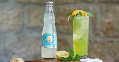 Margon Basilikum-Lemon-Cocktail