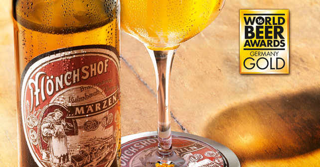 Mönchshof Historisches Märzen World Beer Awards 2016