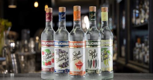 Stolichnaya Flavoured Vodka