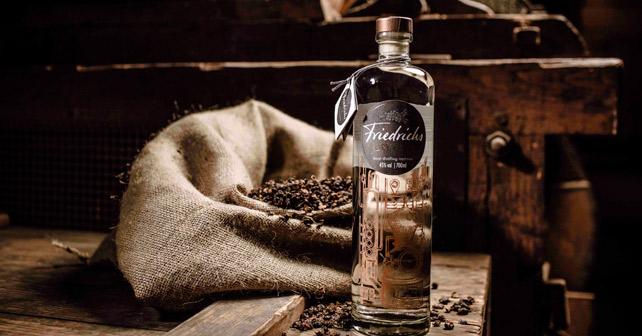 Friedrichs Dry Gin Holz